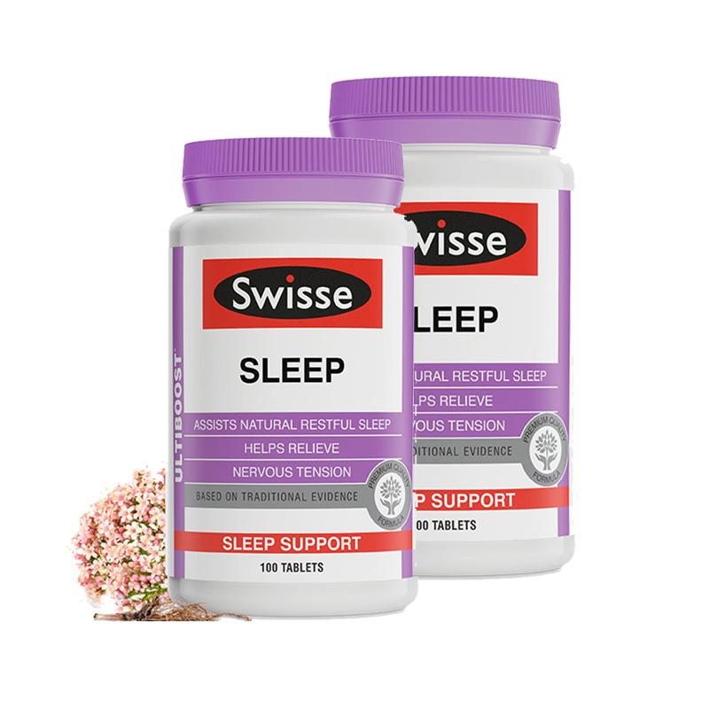 Swisse睡眠片 100片/瓶*2