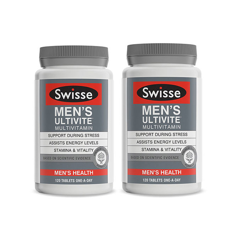 Swisse男性复合维生素片 120片/瓶*2