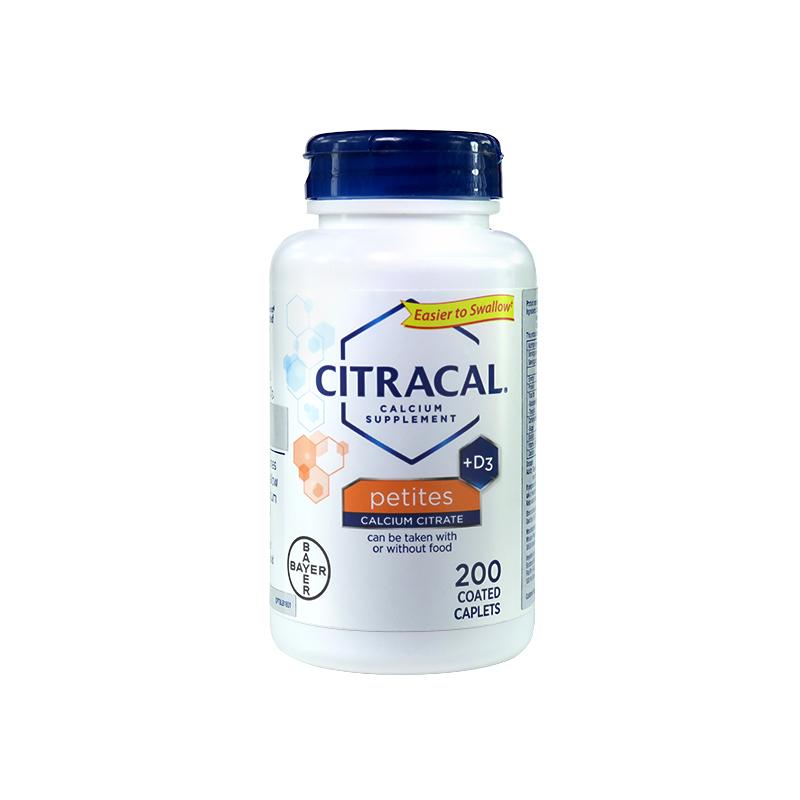 Citracal美信 柠檬酸钙片 200片/瓶【21年10月到期】