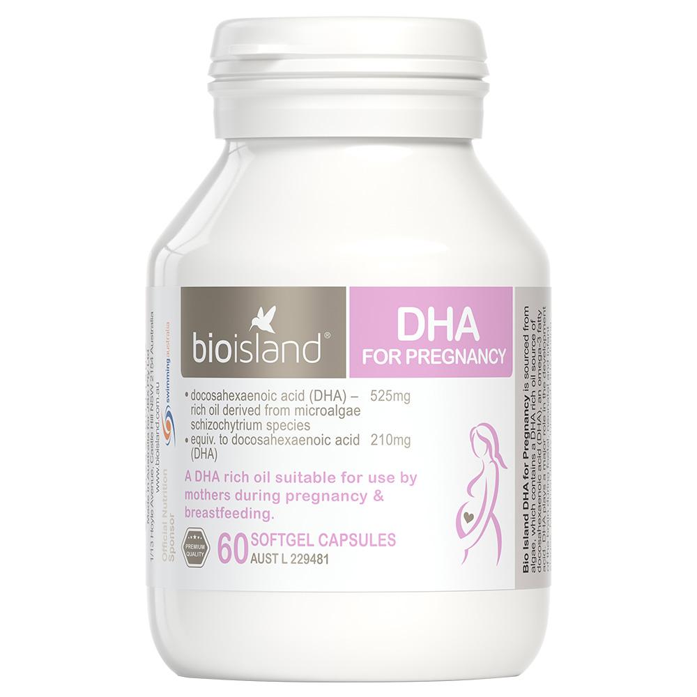 BIO ISLAND 孕妇海藻油DHA 60粒