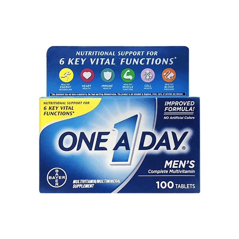 ONE A DAY 男士复合维生素片 100片两盒装