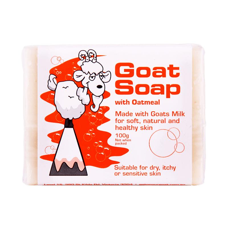 【12块装】澳大利亚GOAT山羊奶皂燕麦味100g/块