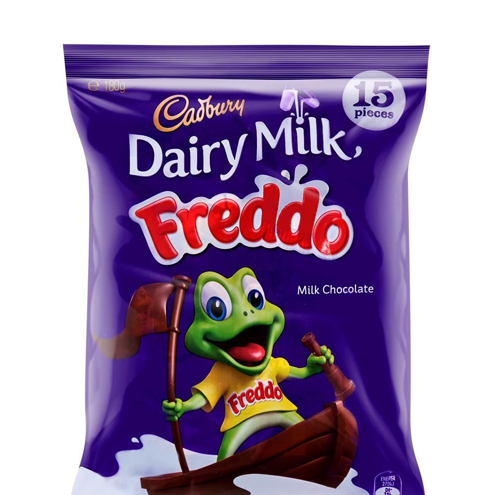【临期清仓】CADBURY 吉百利小青蛙牛奶巧克力 180g*10包